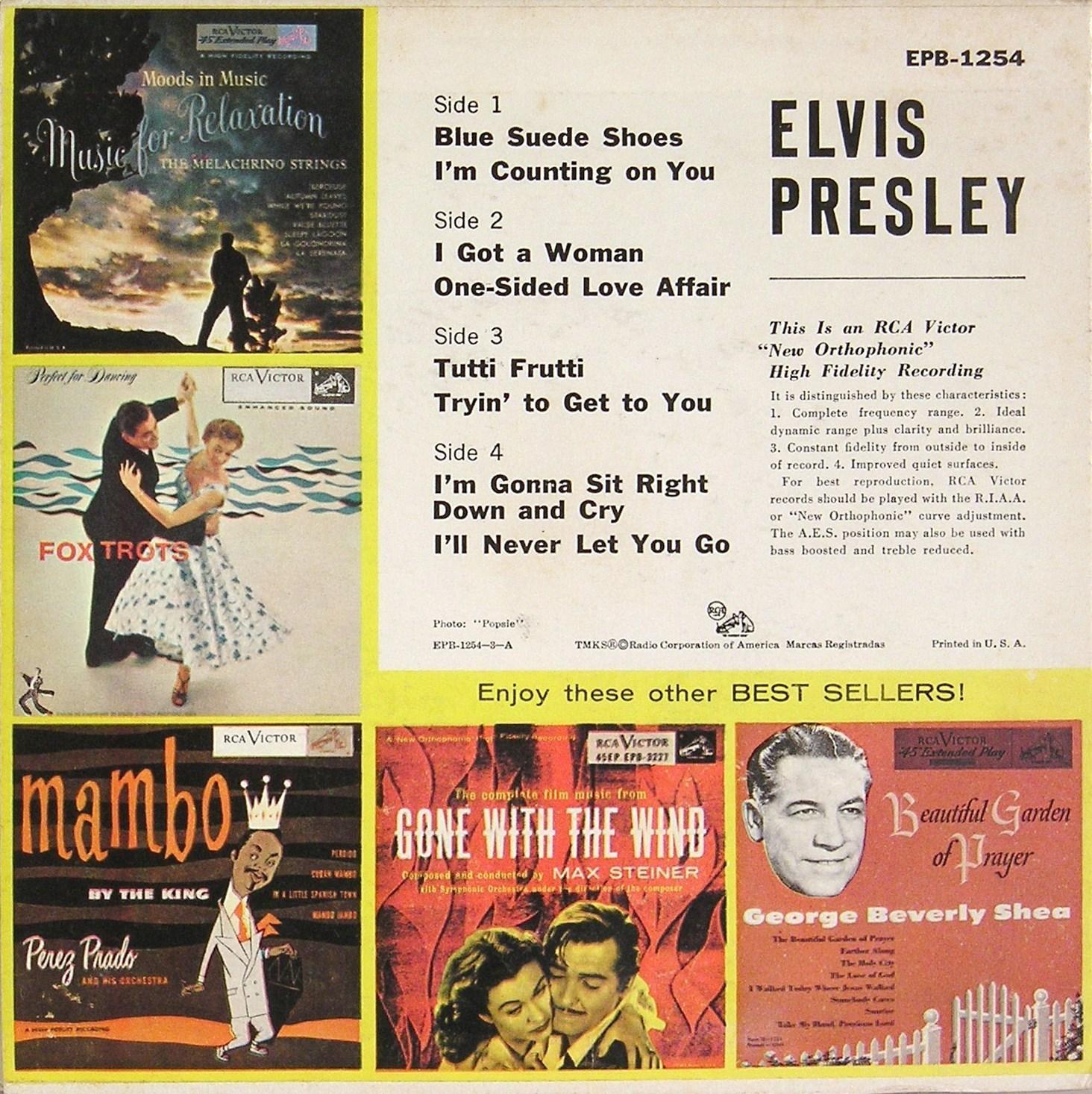 Presley - ELVIS PRESLEY Epb1254r0sc2