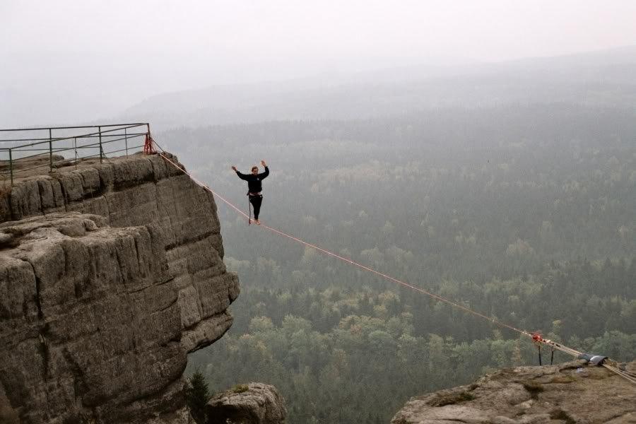 Faith Dickey - kobieta pozbawiona lęku wysokości 2