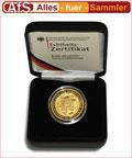 100-Euro-Goldmünze zur Euro-Einführung