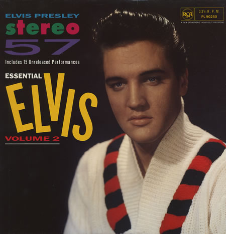 ESSENTIAL ELVIS VOL. 2 - STEREO ´57 Essential2front82yvr