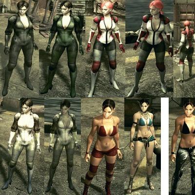 Mods Para Resident Evil 5 Pc