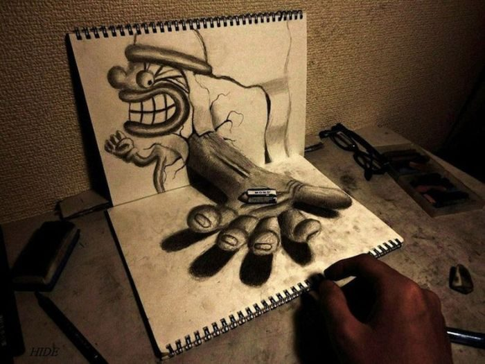 Rysunki 3D #3 4