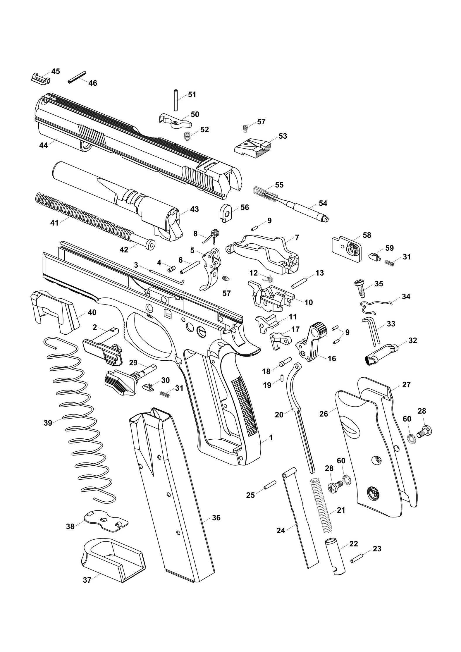 Magazinausl 246 Ser Shadow Sp 01 Seite Wechseln Kurzwaffen