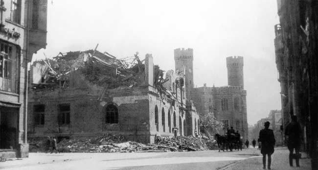 Wrocław  1945 Zniszczenia 13
