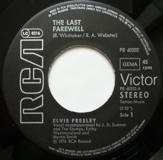 The Last Farewell / It's Easy For You Farewellside1wl7ht