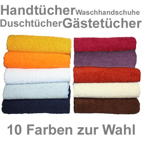 ebay WOW: versch. Handtücher, Gästetücher, Waschhandschuhe oder Saunatücher im Set für je 12,95€ inkl. Versand!