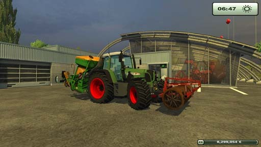 Fendt 718 Vario TMS