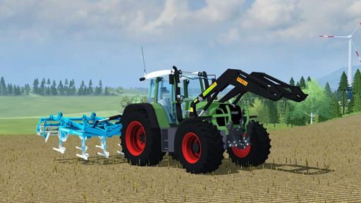 Fendt 818 Vario mit Comfortkabine