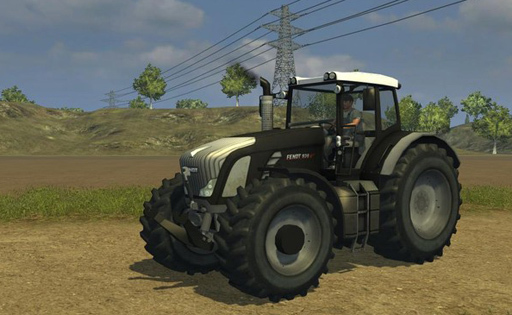 Fendt 936 Vario BB Silver Edition