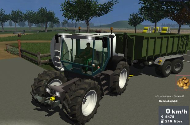 FENDT Xylon 524 v2