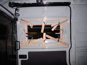 Rahmen, aufgeklebt