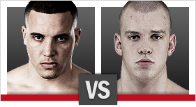 Barry vs. Struve (Foto via Zuffa LLC)
