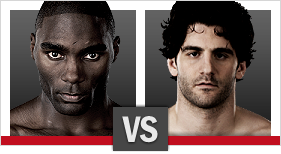 Johnson vs. Brenneman (Foto via Zuffa LLC)