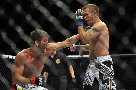 Stout (l.) trifft Fisher (r.) (Foto: Joe Camporeale/US Presswire)