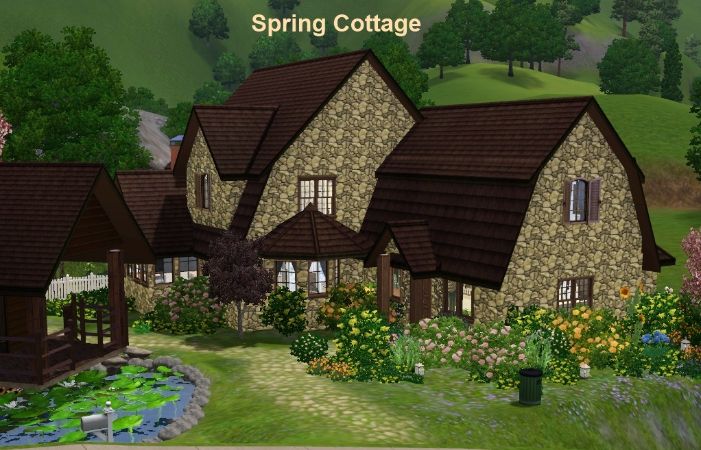 spring cottage das gro e sims 3 forum von und f r fans. Black Bedroom Furniture Sets. Home Design Ideas
