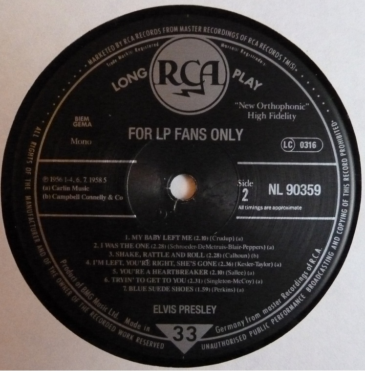 FOR LP FANS ONLY Flpfanso89side2u7fw9