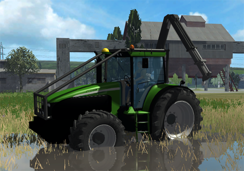 John Deere 7930 (Forest Edition)