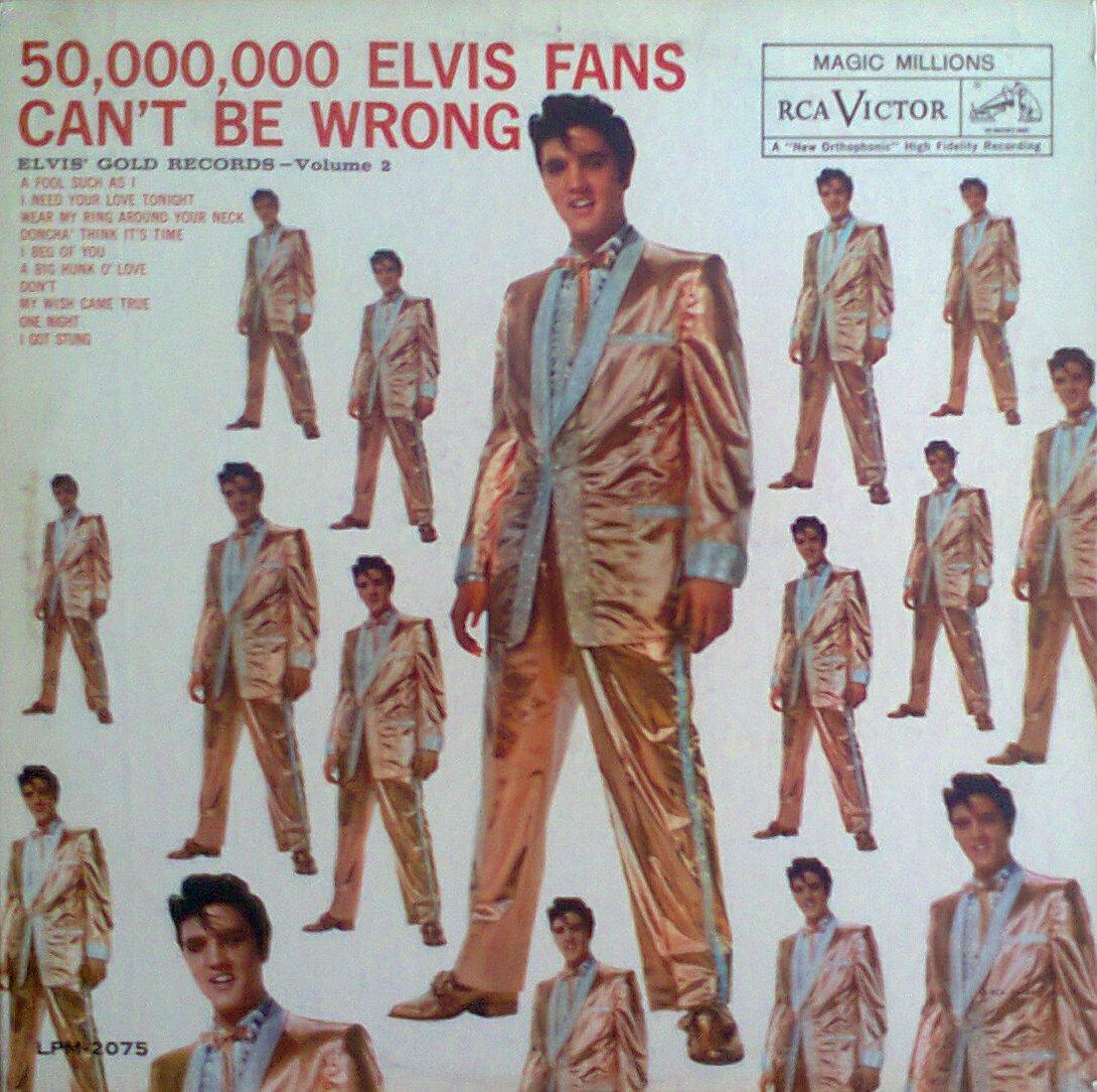 ELVIS' GOLD RECORDS VOL 2 Foto0256g7i85