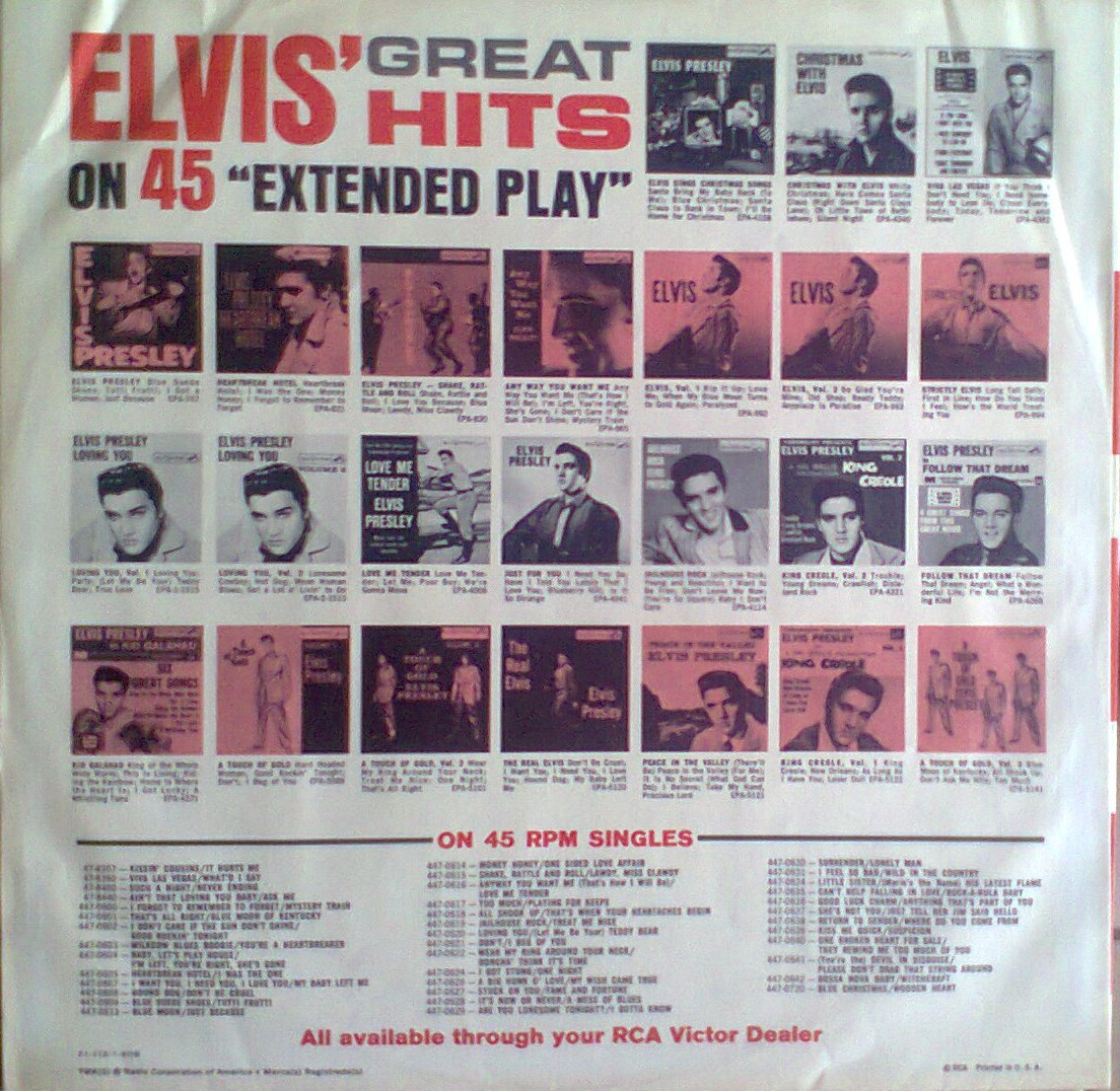 ELVIS' GOLD RECORDS VOL 2 Foto0261onfj8