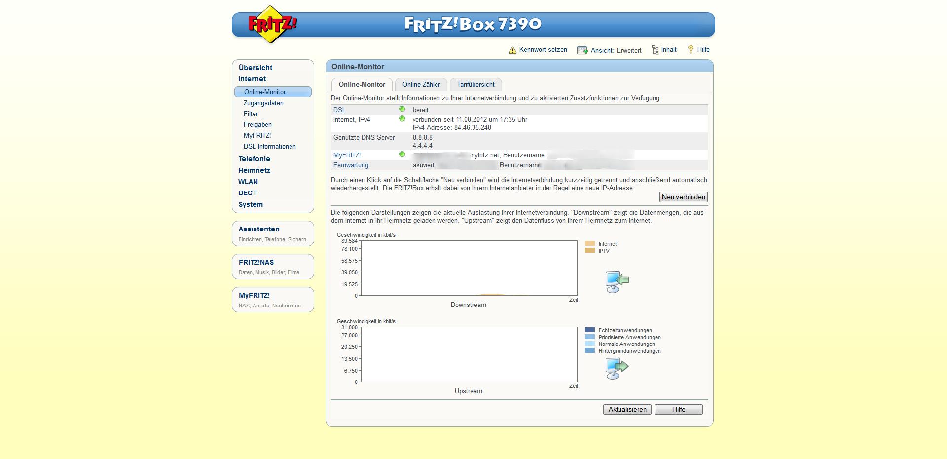Einstellen fritzbox manuell mtu Wieso verbessert