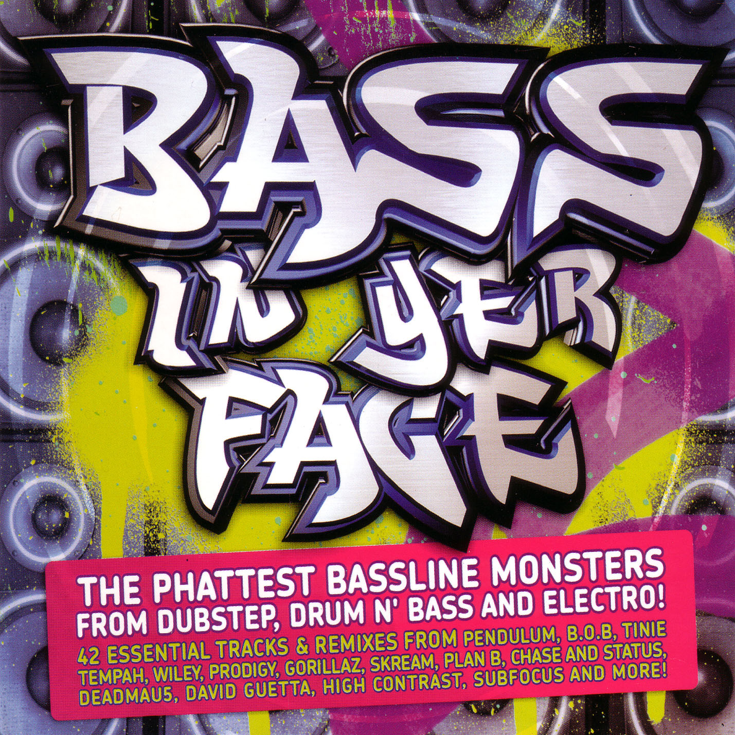 VA - Bass In Yer Face 2cds 2010 +covers 320 @BSBT