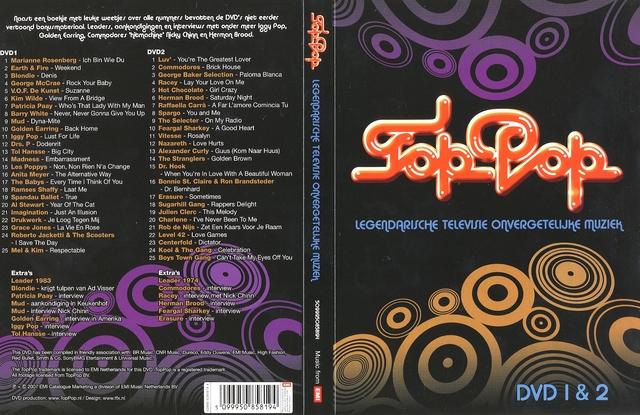 TopPop - Legendarische Televisie Onvergetelijke Muziek Deel 1,2,3,4 NEW SINGLE LINKS  dvdrip