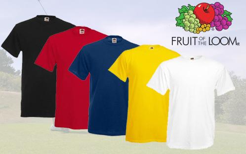 Fruit of the Loom T-Shirts gnstig