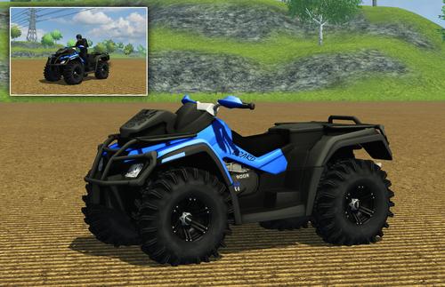 Farming Simulator 2013 ATV