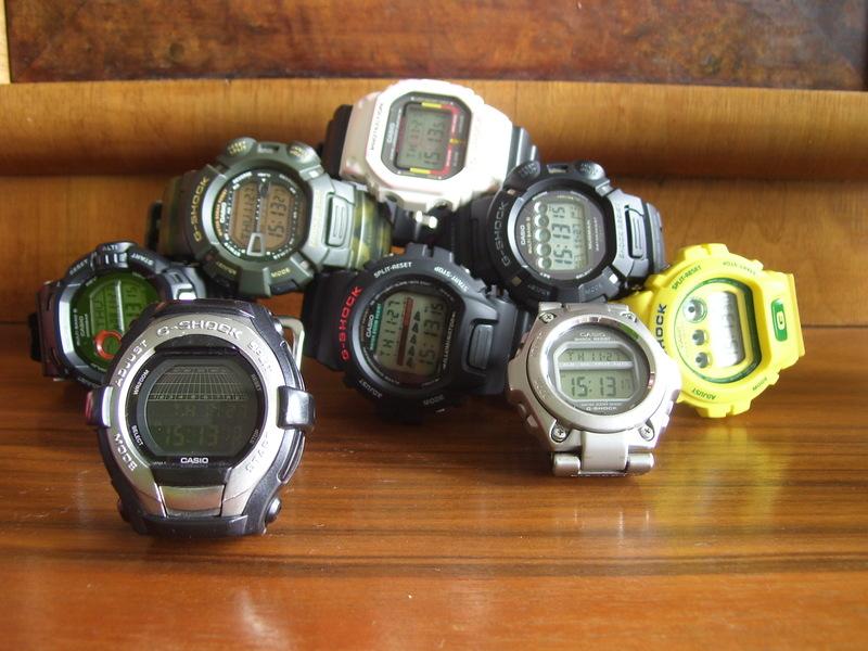 Наручные часы Casio G-SHOCK Касио Джи Шок Более 500