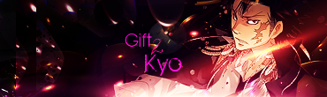 kyoshiro gets a pink gift xD G2k2pdm