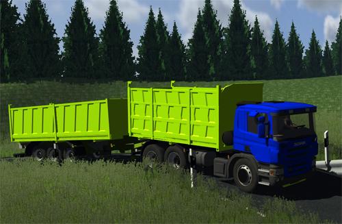 Scania G440 + Trailer