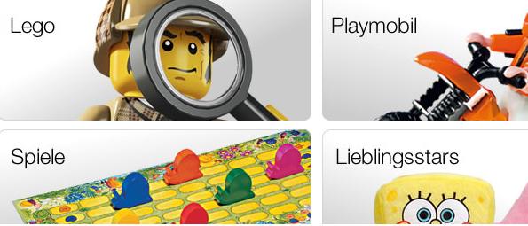Jetzt auch 15% Rabatt auf Spielwaren bei Galeria Kaufhof! - buch.de/bol.de: 10% Rabatt auf Spielwaren - Lego, Schleich, Ravensburger, Brio uvm.