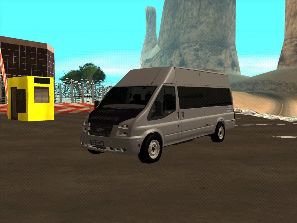 GTA SA Ford Transit Jumbo - Okul Taşıtı