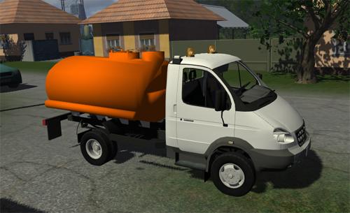 GAZ Valdai Mobiltank