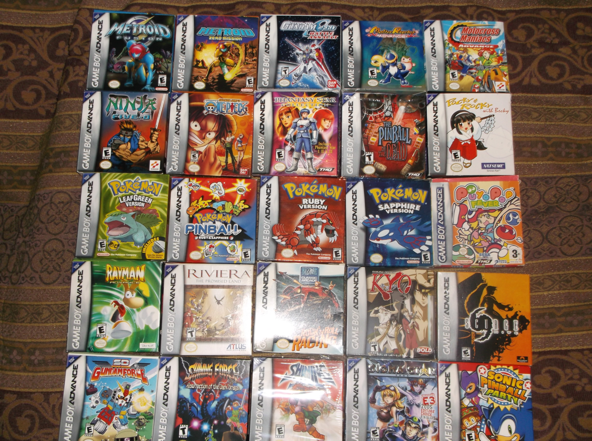 Gameboy color and advance rpg games - And Yet There Are Dozens More Games That I D Like To Add To This Before I Can Feel Like I Have A Complete Library Of Good Gba Games