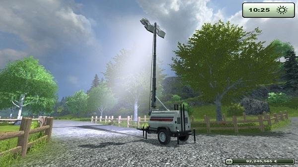 Placeable Floodlight Generator ls2013 Generatorolbyu
