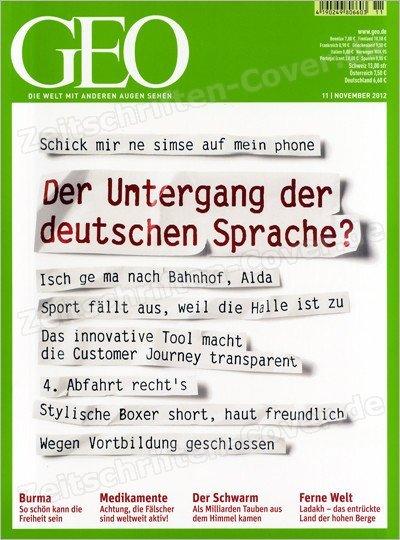 Gruner+Jahr: GEO Jahresabo für 15,60€, dank BestChoice Gutscheinprämie