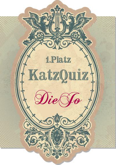 1. Platz KatzQuiz: DieJo