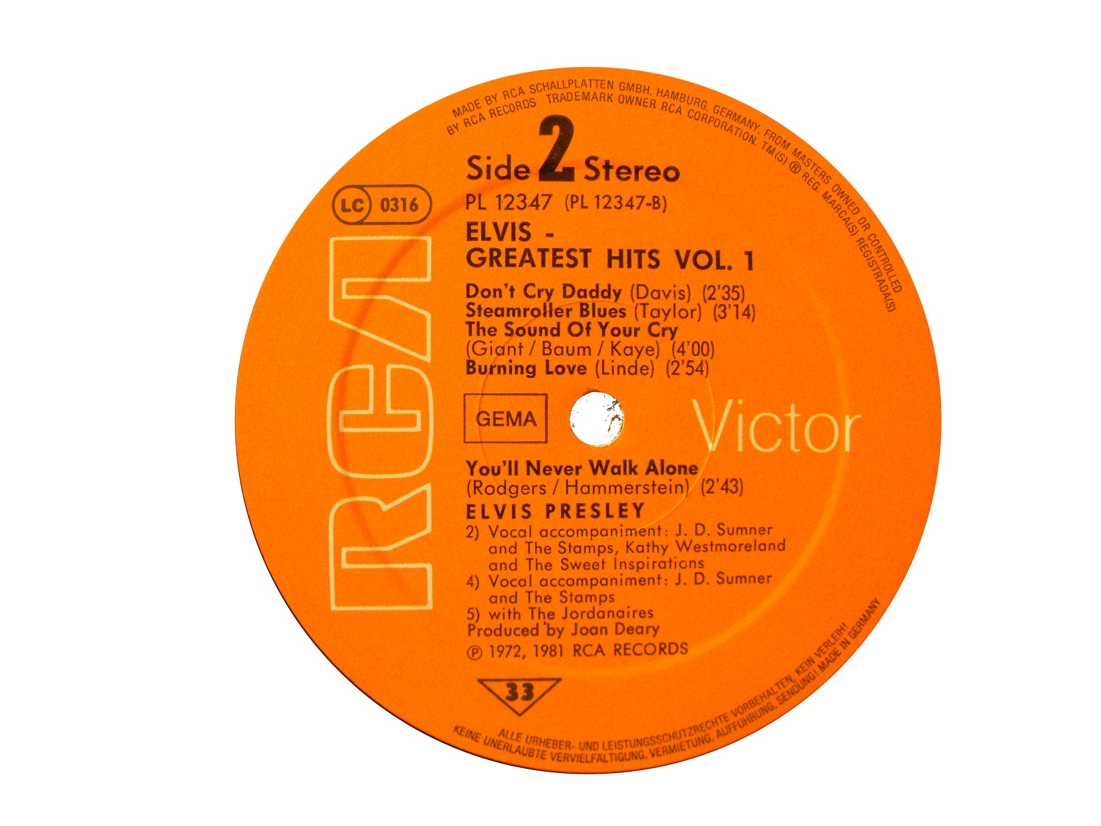GREATEST HITS VOL. 1 Ghlabel20ku4n