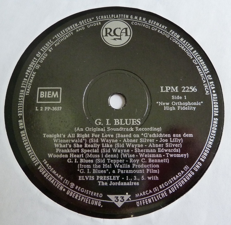 G.I. BLUES Gi60side1itiy9