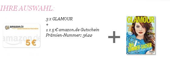 Glamour kostenlos dank Amazon Gutschein oder H&amp;M Gutschein