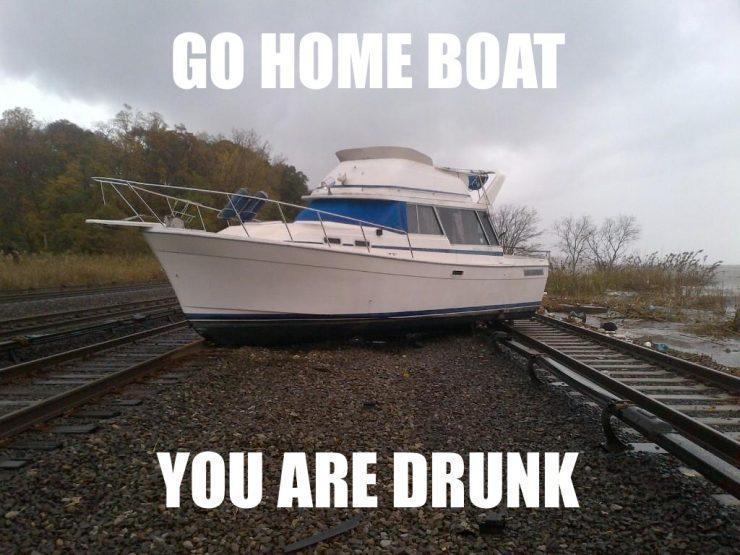 Wracaj do domu, jesteś pijany 19