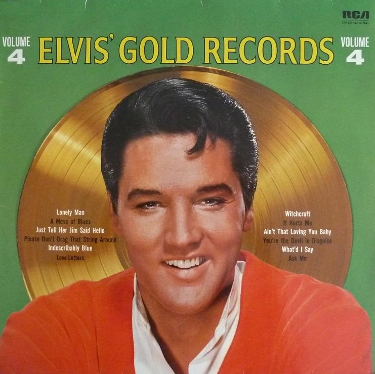ELVIS' GOLDEN RECORDS VOL. 4 Goldrec483front8akc9