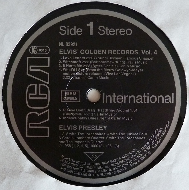 ELVIS' GOLDEN RECORDS VOL. 4 Goldrec483side1q0jru