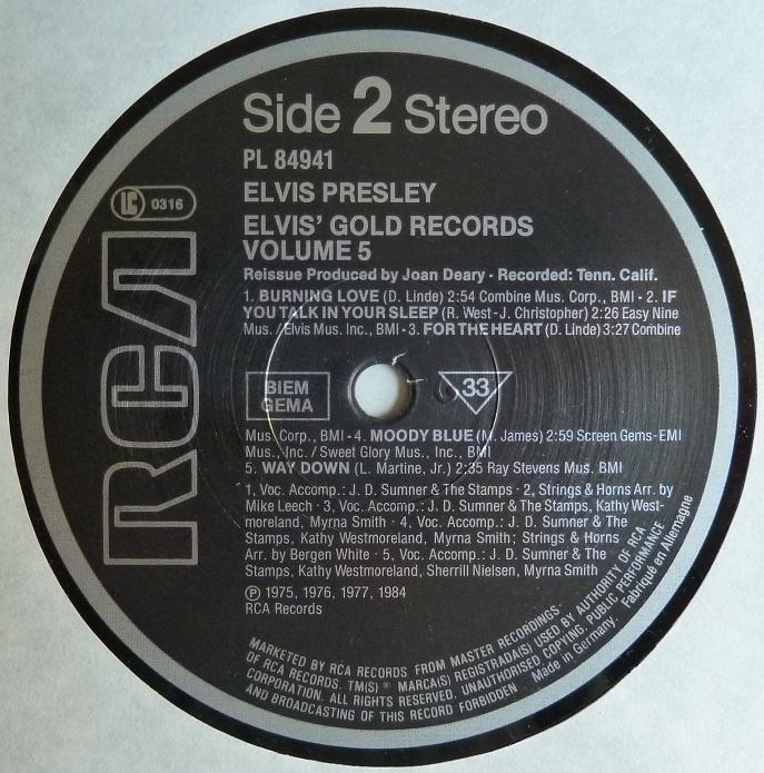 ELVIS' GOLD RECORDS VOL. 5 Goldrec5side2kbuaf