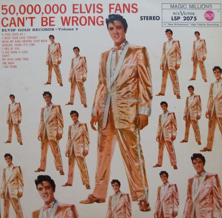 ELVIS' GOLD RECORDS VOL. 2 - 50.000.000 ELVIS FANS CAN´T BE WRONG Goldrecordsvol.21967fpgqa1