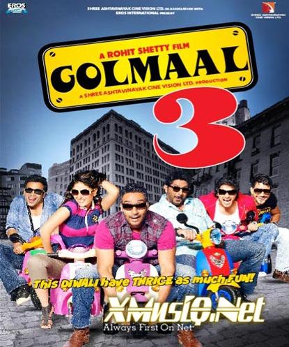 Golmaal3 (2010) 320Kbps Boolywood