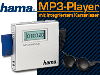 MP3 Player gratis bei Pearl