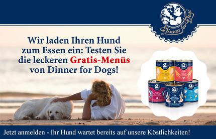 Hundefutter gratis Probe