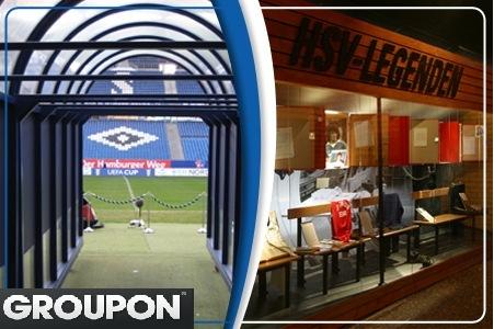 Groupon Hamburg: HSV-Stadiontour und HSV-Museum für 2 Personen für nur 10€!